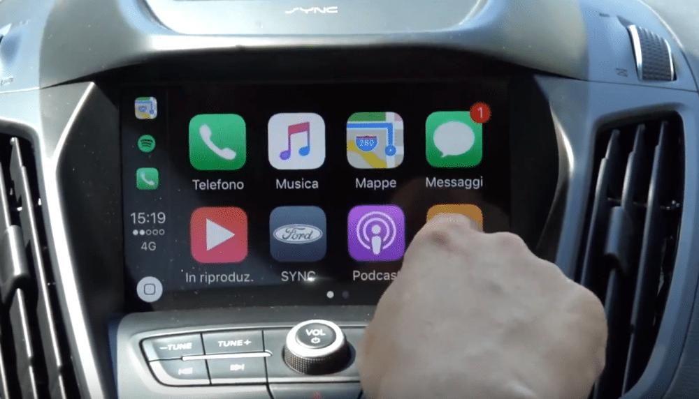 ford kuga st sync 3 alla prova di android auto e apple carplay. Black Bedroom Furniture Sets. Home Design Ideas