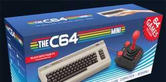 c64 mini scatola
