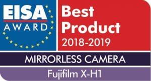EISA Award Logo Fujifilm X-H1