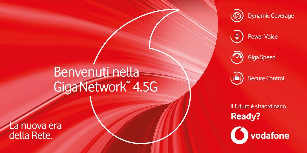 Giga Network, la nuova rete di Vodafone che anticipa il 5G