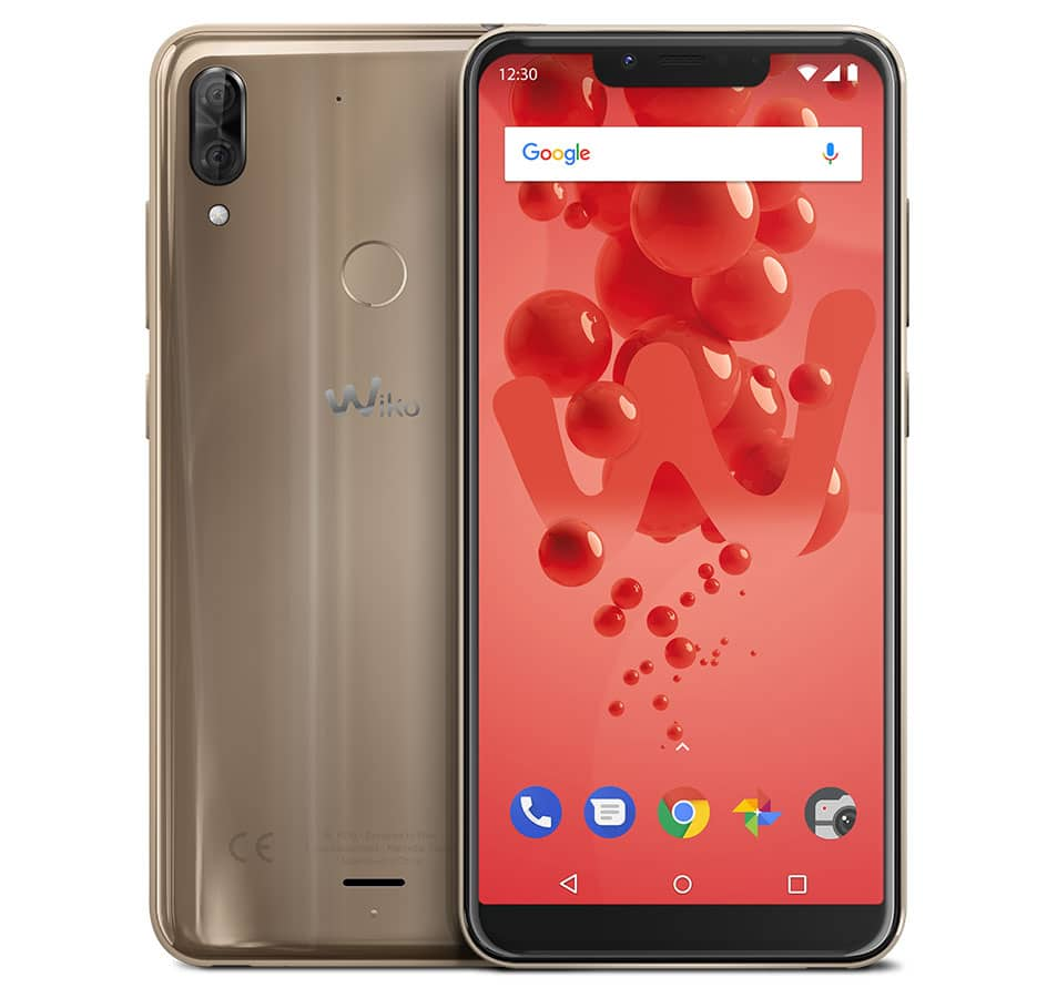 Wiko_IFA2018_View2-Plus_Gold_Compo-01_HD