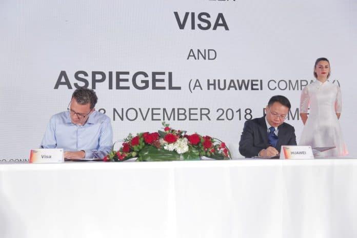 Visa - Huawei signature