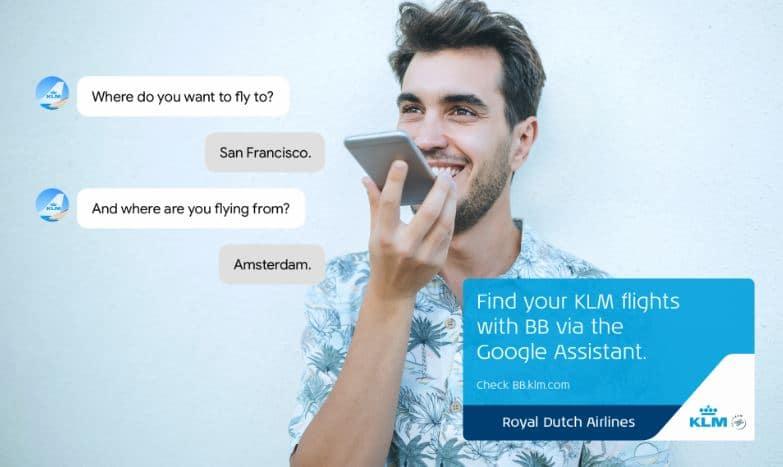 KLM Google Assistant