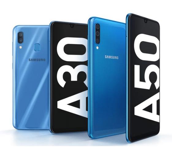 Samsung aggiorna la fascia media: presentati Galaxy A50 e A30