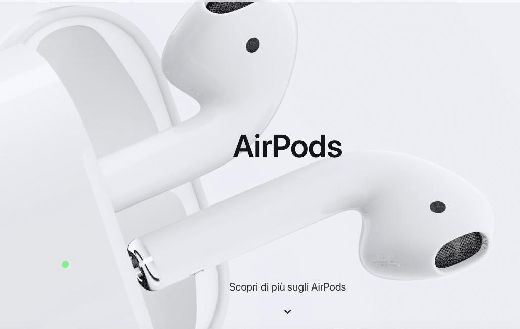 Apple  svelati gli AirPods di seconda generazione con ricarica wireless 91dbd8bb3603