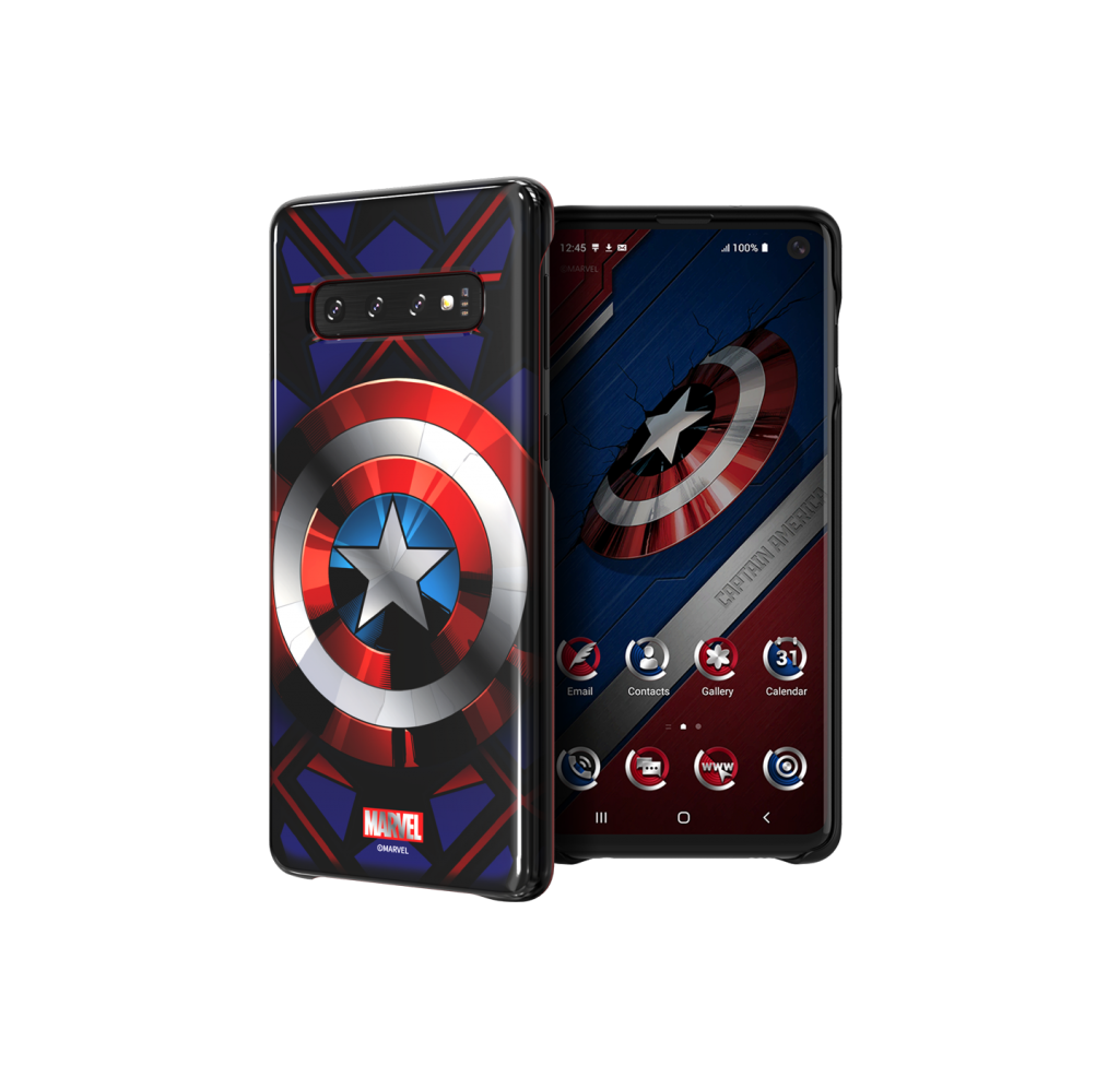 Cover Galaxy S10_Captain America