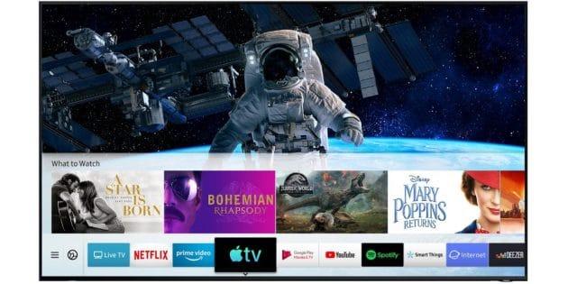 Samsung lancia l'app Apple TV e il supporto AirPlay 2