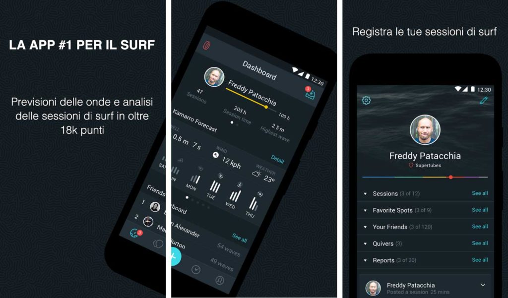 glassy-surf-forecast app