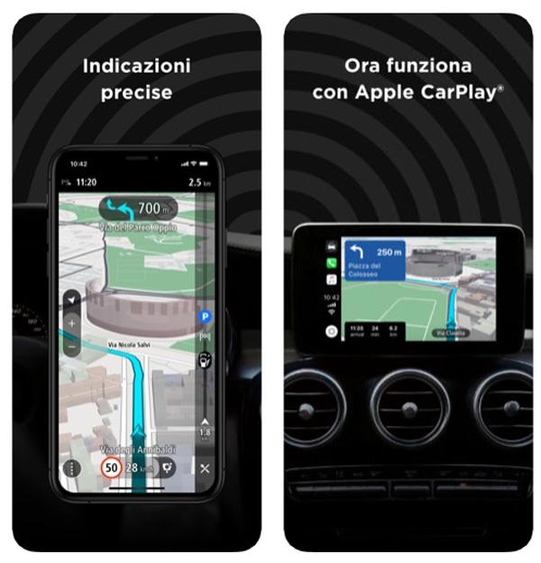 La nuova app TomTom GO Navigation funziona con Apple CarPlay - iGizmo it