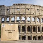 Amazon amplia il servizio Prime Now a Roma: 16 i nuovi CAP serviti