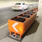 Leonidas: l'attenuatore d'urto eccellente per la sicurezza stradale