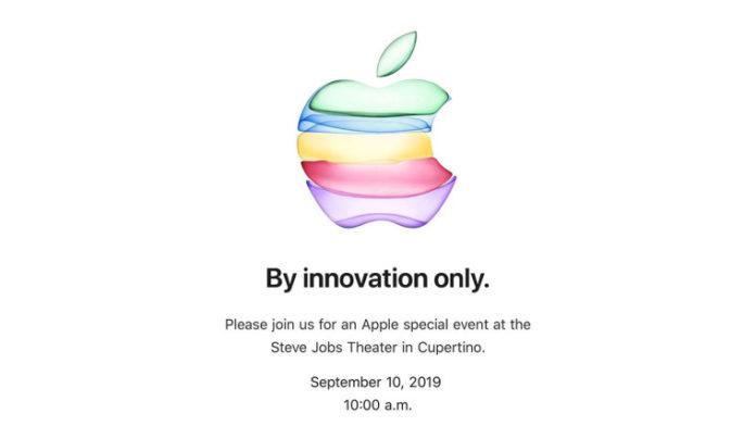 Apple: i nuovi iPhone saranno presentati il prossimo 10 settembre