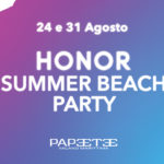 Honor Summer Beach Party è la festa colorata e social dell'estate 2019