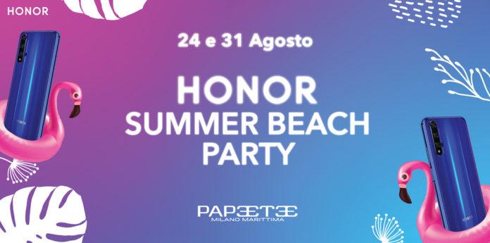 Honor Summer Beach Party è la festa colorata e social dell'estate 2019