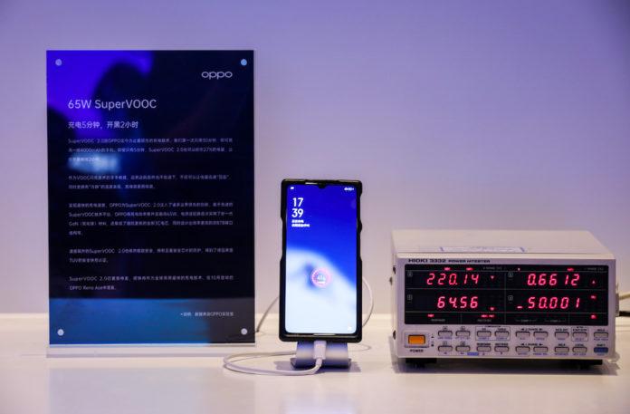 OPPO annuncia 3 nuove tecnologie di ricarica veloce