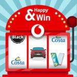 Happy & Win è il nuovo concorso Vodafone per premiare i clienti