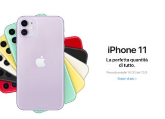 iPhone 11: tre modelli, nuovo chip e novità importanti per la fotocamera