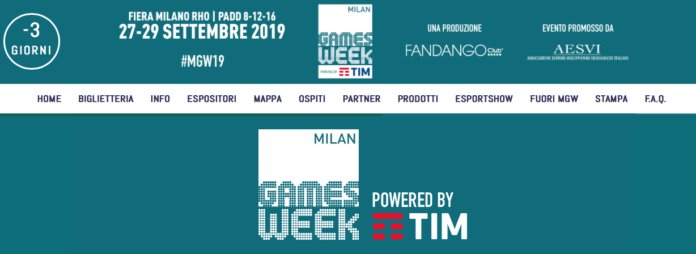 Milan Games Week powered by TIM, tutti i contenuti delle aree tematiche