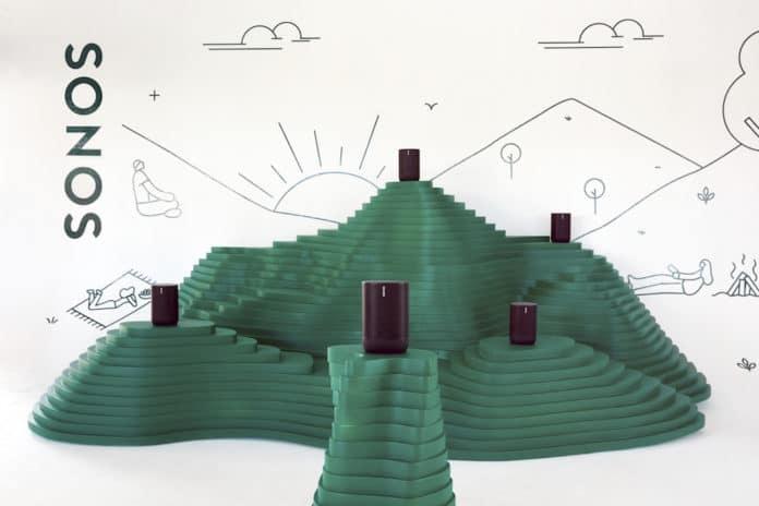 Sonos: Move è il suo primo speaker per l'esterno e alimentato a batteria