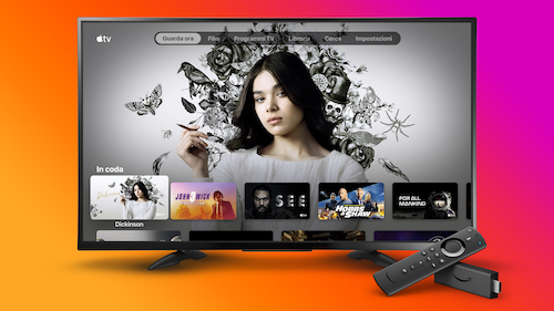 La App di Apple TV da oggi disponibile su Amazon Fire TV