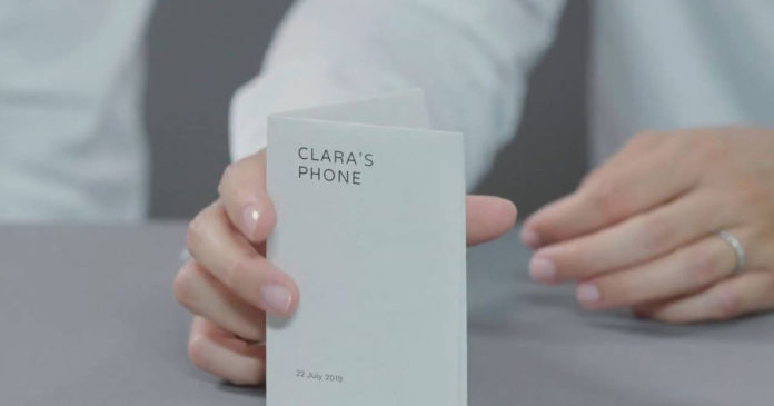 Google Paper Phone: ecco lo smartphone di carta per la digital detox