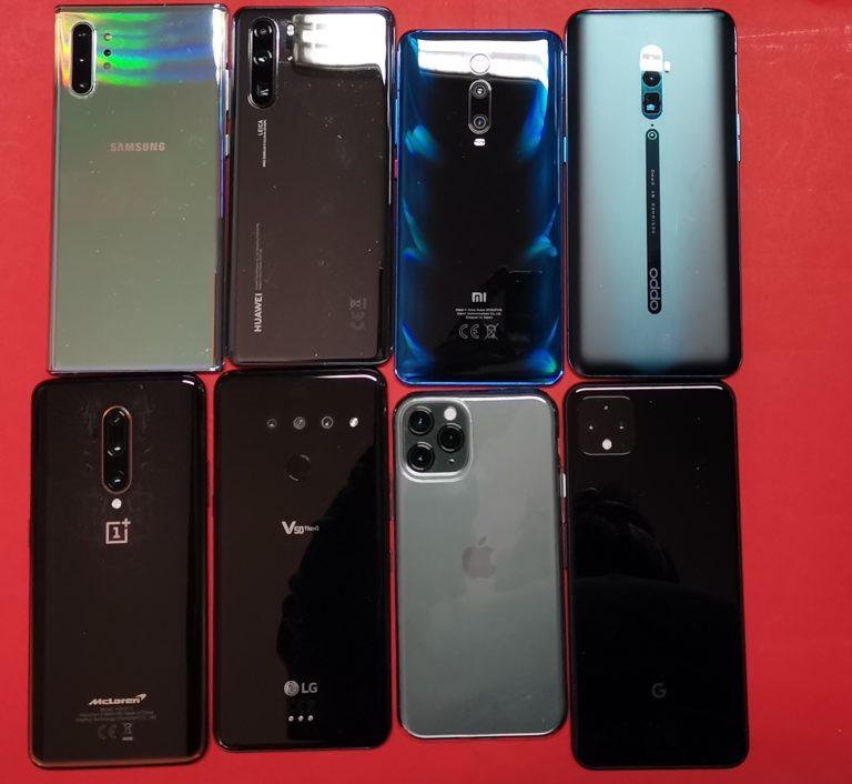 Confronto: le prestazioni reali di 8 smartphone top di gamma