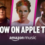 Amazon Music: disponibili milioni di brani in streaming su Apple TV