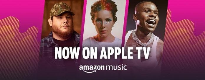 Amazon Music: disponibili milioni di brani in streaming su Apple TV