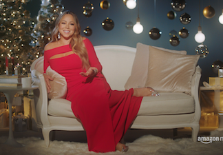 Amazon Music: un mini-documentario su Mariah Carey, regina del Natale