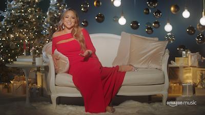 Amazon Music: un mini-documentario su Mariah Carey, regina del Natale