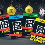 DAZN: la magia dello sport arriva sotto l'albero di Natale