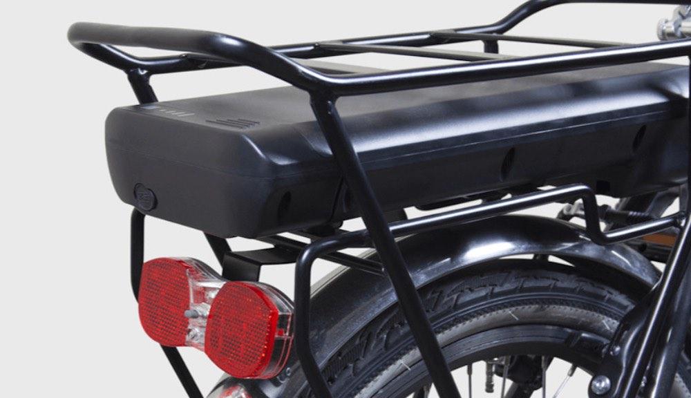 La nuova eBike pieghevole pesa solamente 18,8 kg ed è dotata di tutti gli optional.
