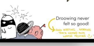 doodroo: la pellicola che fa diventare iPad un vero taccuino di carta