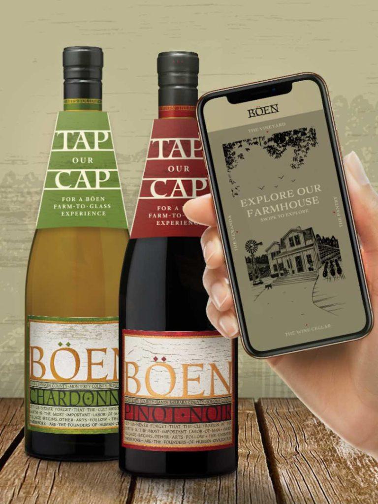 Il precedente Usa: il marchio vinicolo californiano Böen è il primo ad aver utilizzato la tecnologia Nfc nel vino