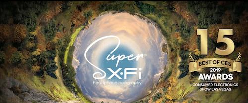 Super X-Fi Gen2 porta a un livello superiore l'olografia per cuffie