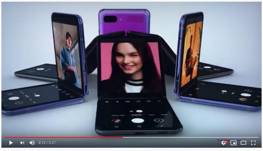 Il Galaxy Z Fli annuncia funzionalità dedicate e sorprese anche in tema di videochiamate