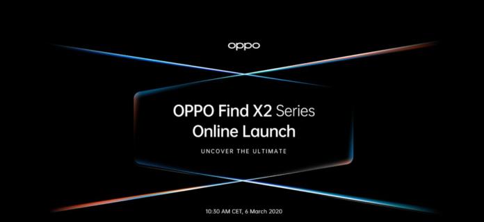 Oppo: la Serie Flagship 5G Find X2 sarà presentata in streaming il 6 marzo