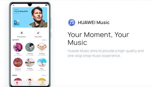 Huawei Music: contenuti di qualità a 9,99 euro al mese