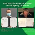 Oppo e IEEE creano un ecosistema di scambi accademici internazionali