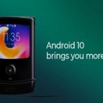Motorola Razr: da oggi disponibile l'aggiornamento ad Android 10