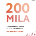 Xiaomi: 200.000 Mi Fan iscritti alla Community italiana
