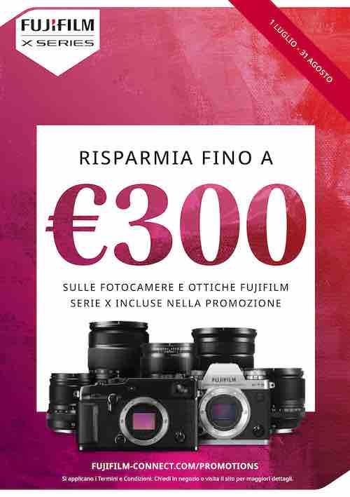 Fujifilm Cashback e Instant Rebate Estate 2020 disponibile fino ad agosto