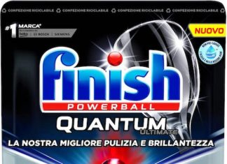 Gli spot di Finish Quantum Ultimate e Gel censurati dal Gran Giurì