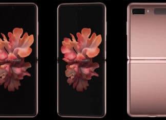 Anche Samsung Galaxy Flip 5G si mostra in Mystic Bronze