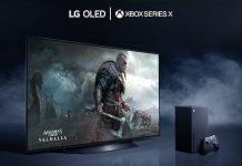 LG OLED TV XBox Series
