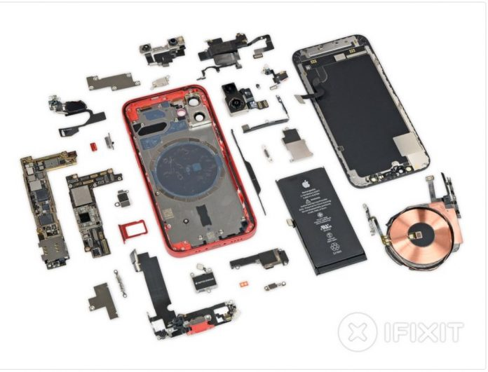 iphone 12 mini componenti