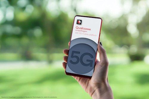 Snapdragon 480 5G Mobile Platform - Logo - Outdoors