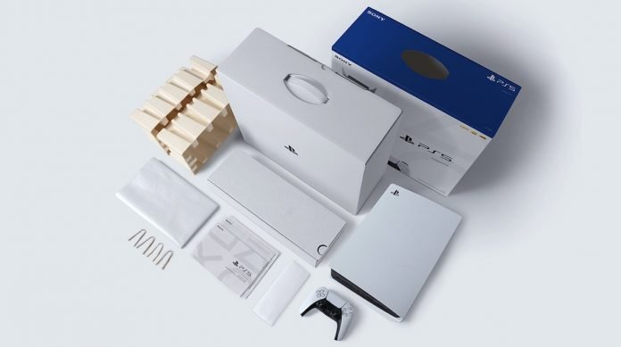 PlayStation Sony Riciclabile Packaging